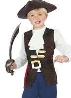Costume Pirate Jack garçon Childrens Costume de Pirate Enfant
