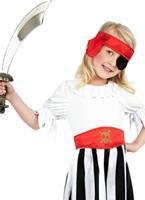 Costume de pirate Girl Childrens Costume de Pirate Enfant