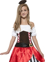 Costume de Pirate de Miss Teen Costume de Pirate Enfant