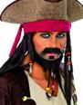 Perruque de Pirate Set de pirate Barbe