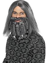 La valeur de terreur de la perruque de Pirate de mer et de la barbe Perruque de Pirate