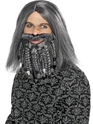 Perruque de Pirate La valeur de terreur de la perruque de Pirate de mer et de la barbe