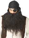 Perruque de Pirate Pirate Barbe & Moustache noire