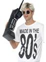 Accessoire Années 80 Gonflable rétro Téléphone Mobile