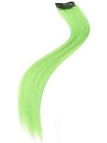 Cheveux Extensions Neon Green Accessoire Années 80