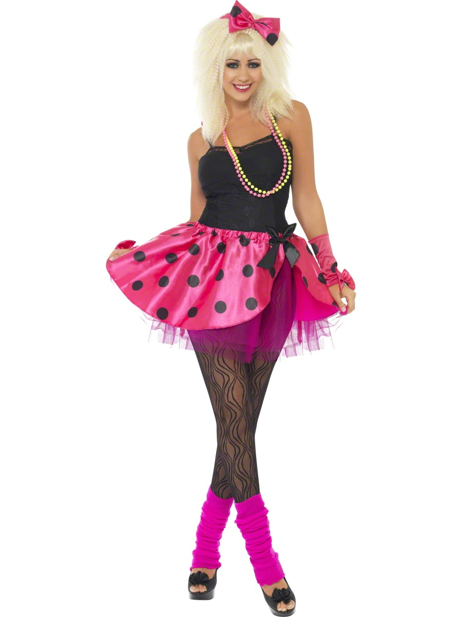 Costume Femme Retro Tutu rose Kit instantanée