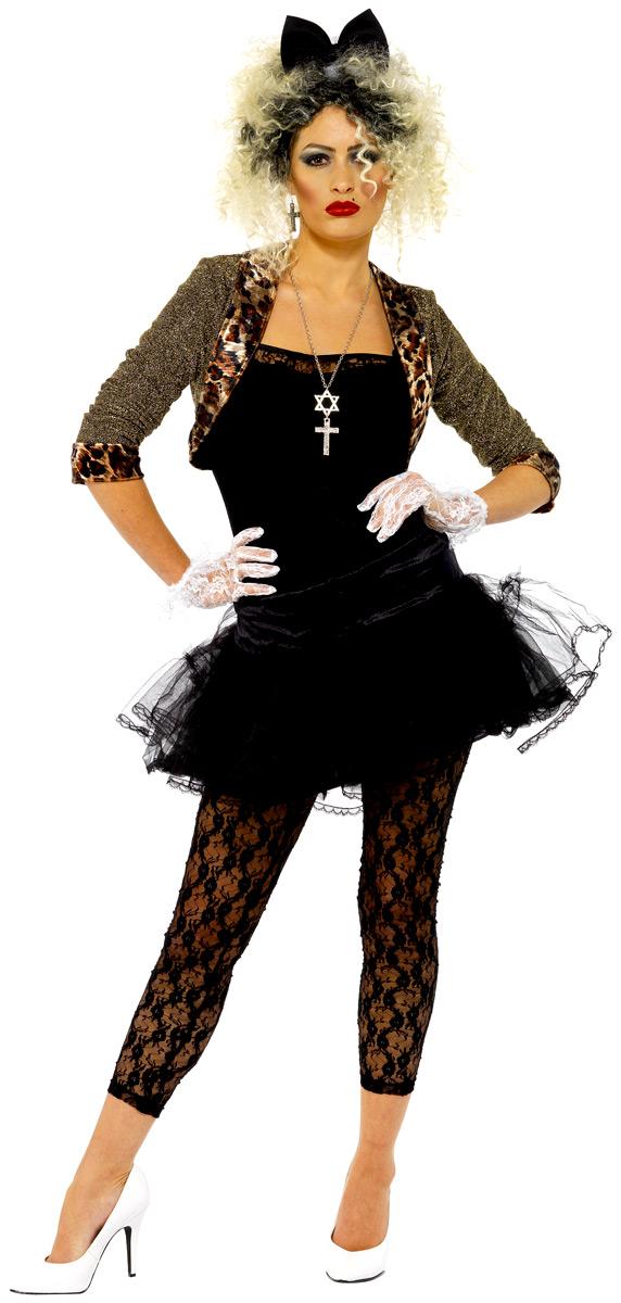 Costume Femme Retro Costume enfant sauvage 80 ' s