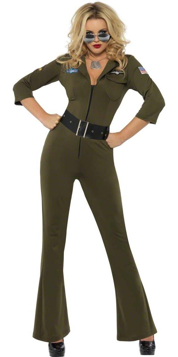 costume aviateur top gun costume femme retro d guisement r tro 22 07 2018. Black Bedroom Furniture Sets. Home Design Ideas