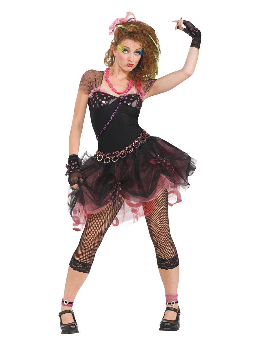 Costume Femme Retro Costume Diva des années 80
