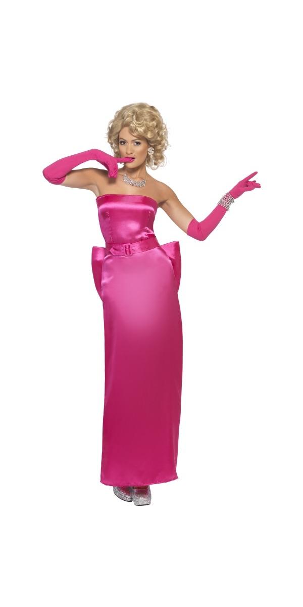 Costume Femme Retro 80 ' s Material Girl Costume