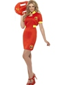 Costume Femme Retro Mesdames Baywatch Beach Lifeguard Costume