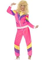 Hauteur des années 80 de mode Shell costume Costume Costume Femme Retro