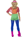 Costume Femme Retro 80 s Let's Get physique Girl Costume