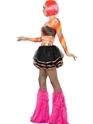Costume Femme Retro Mesdames Rainbow Raver Kit