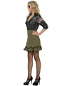 Costume Femme Retro Costume agent de Top Gun