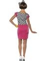 Costume Femme Retro 80 ' s, deux tons Ska Girl Costume