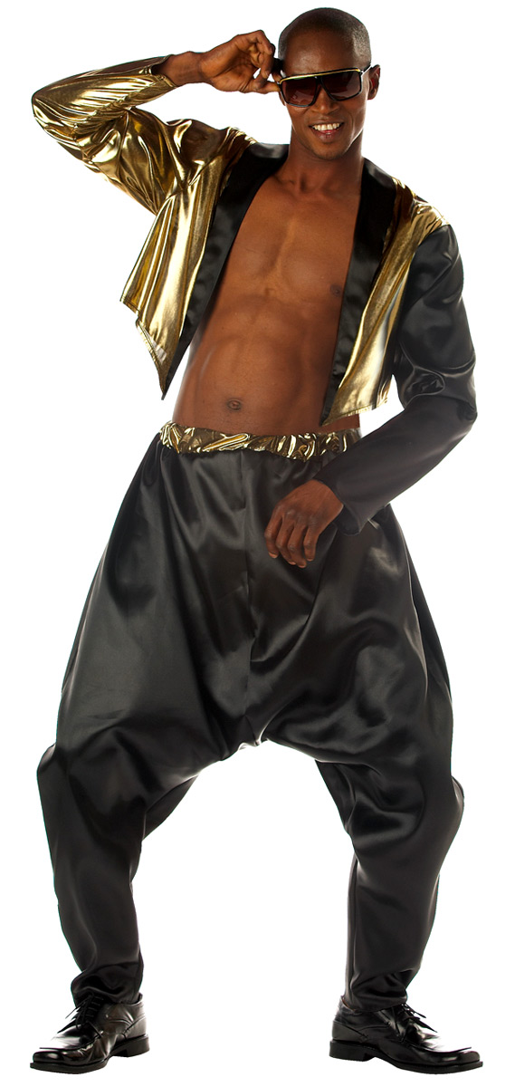 Costume Homme Retro Costume de rappeur Old School