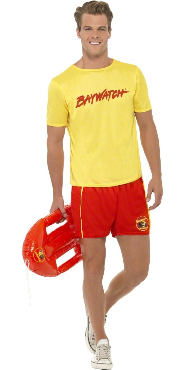 Costume Homme Retro Costume de plage masculin Baywatch