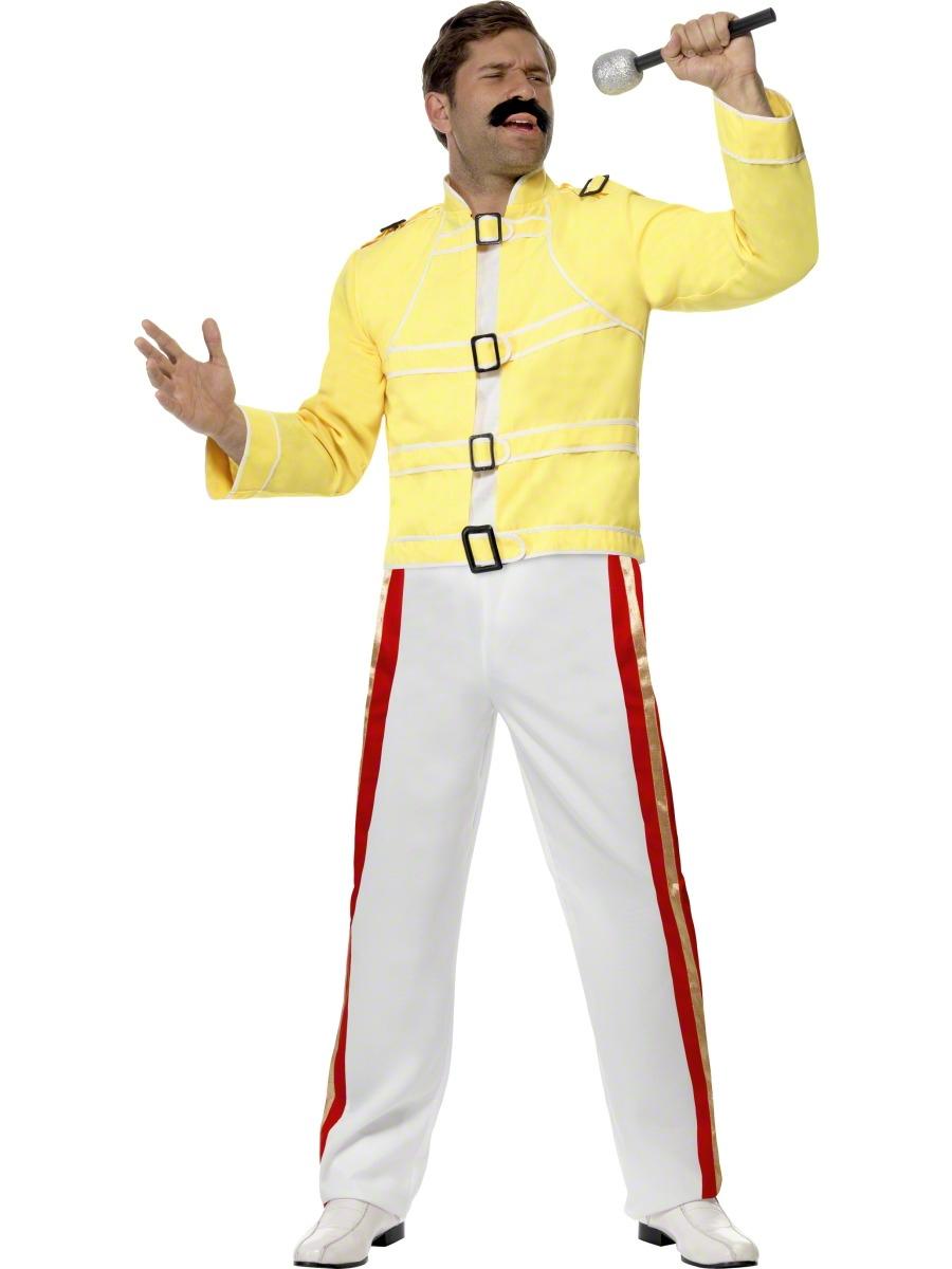 Costume Homme Retro Costume de Freddie Mercury économie