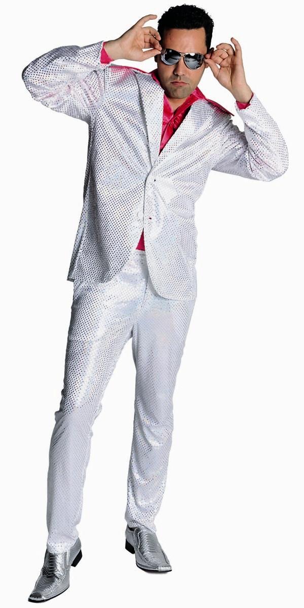 paillet mens costume disco blanc costume homme retro d guisement r tro 16 07 2018. Black Bedroom Furniture Sets. Home Design Ideas