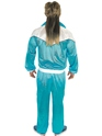 Costume Homme Retro 80 ' s Shell costume bleu