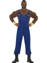 Costume de Monsieur T économie Costume Homme Retro