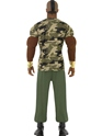 Costume Homme Retro Costume de Camouflage de Monsieur T Premium