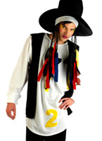 Boy George 80 s Pop Star Costume Costume Homme Retro
