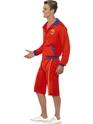 Costume Homme Retro Lifeguard Costume alerte à Malibu Beach masculine