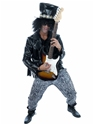 Costume Homme Retro 80 ' s Rock Guitar Hero (Slash)