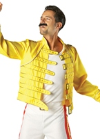 Costume de Wembley 86 de Freddie Mercury Costume Homme Retro