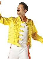 Costume de Wembley 86 de Freddie Mercury Costume Homme Retro