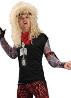 Costume de bande de cheveux 80 ' s Costume Homme Retro