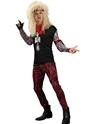 Costume Homme Retro Costume de bande de cheveux 80 ' s