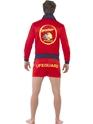 Costume Homme Retro Costume de Baywatch Lifeguard