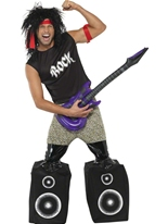 Costume de Rocker Midget Costume Homme Retro