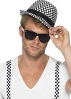 80 ' s Ska deux ton Kit instantanée Costume Homme Retro