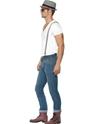 Costume Homme Retro 80 ' s Ska deux ton Kit instantanée