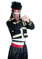 Nouveau Costume romantique Adam Ant Costume Homme Retro