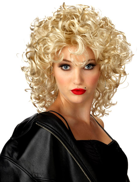 Perruque Retro La perruque Blonde de Bad Girl