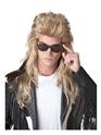 Perruque Retro Perruque de mulet pour le Rock des années 80