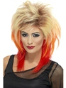 Perruque Retro Perruque Mullet Blonde des années 80