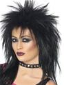 Perruque Retro Rock Diva perruque noir
