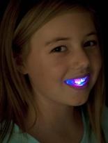 Clignotant morceau bouche UV & NEON