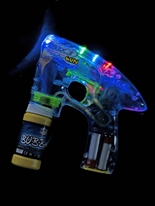Allume & lueur Bubble Gun UV & NEON