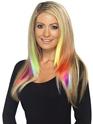 UV & NEON Extensions de cheveux Aqua