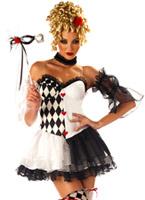 Le Belle Costume Arlequin Déguisement Cirque
