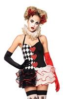 Costume Arlequin Sweetheart Déguisement Cirque