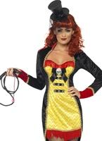 Costume de cirque Ringmaster pécheresse Déguisement Cirque