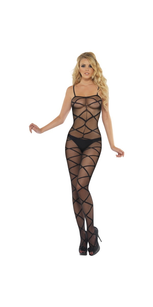 Justaucorps & culottes Noir pure Body Stocking